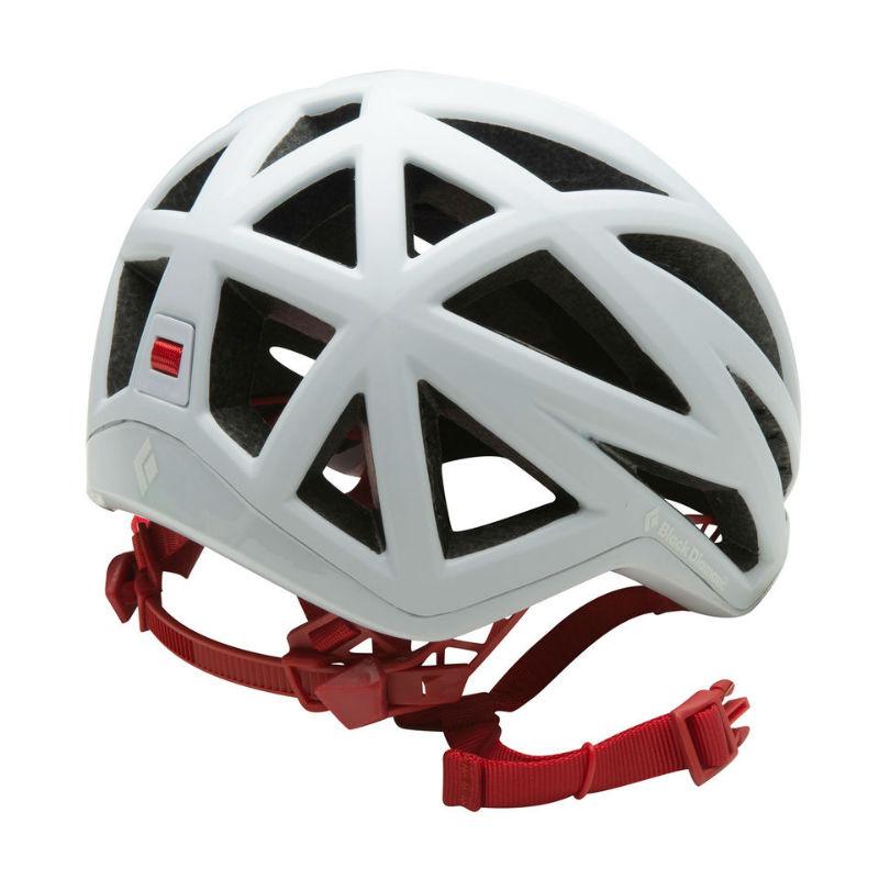 Black Diamond Vapor Climbing Helmet White Back
